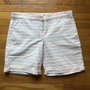 Striped Gap Chino Shorts